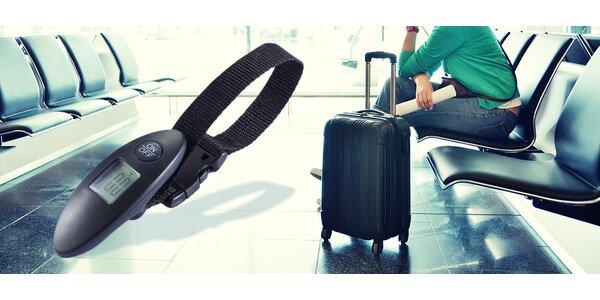 Váha na kufry - ideální na cesty letadlem