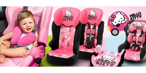 Německé autosedačky Ossan s designem Hello Kitty