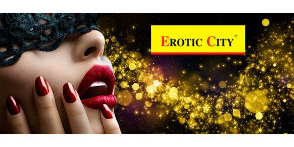 Sleva 40 % do Erotic City na veškerý sortiment