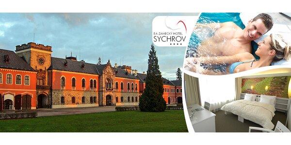Zimní romantika v Zámeckém hotelu Sychrov