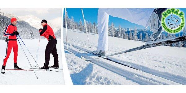 Kurzy běžeckého lyžování na Božím Daru