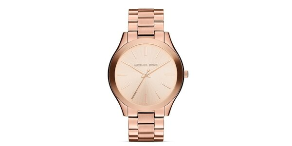 Dámské pozlacené ocelové hodinky Michael Kors