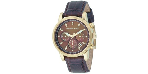 Dámské hodinky s chronografem Michael Kors