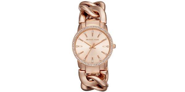 Dámské hodinky s originálním řemínkem Michael Kors