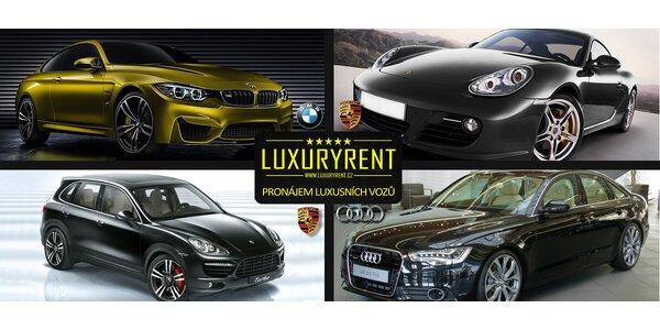 Půjčte si na víkend Porsche a další auta snů