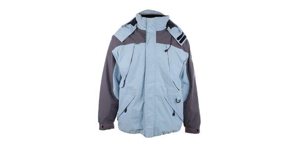 Pánská světle modrá bunda s šedými prvky Joluvi