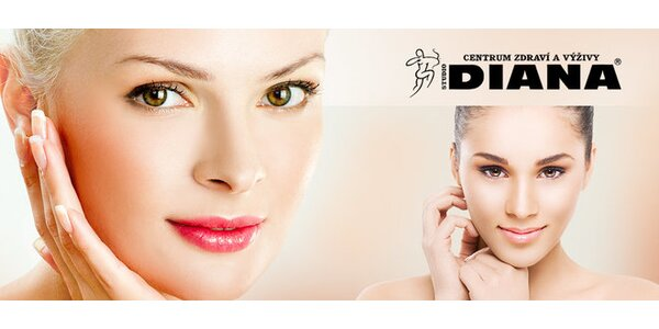60-90minutové ošetření pleti kosmetikou Dermacol