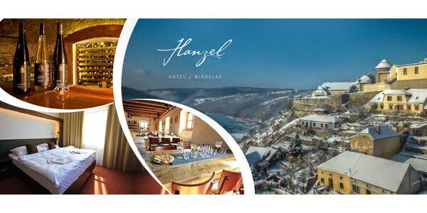 Romantická zima ve Vinařství Hanzel na Znojemsku