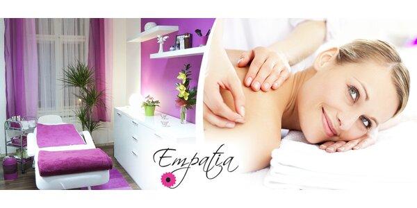 Certifikované zdravotní masáže v centru Ostravy