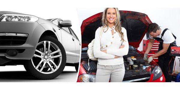 Kompletní kontrola technického stavu vozidla a diagnostika Bosch KTS