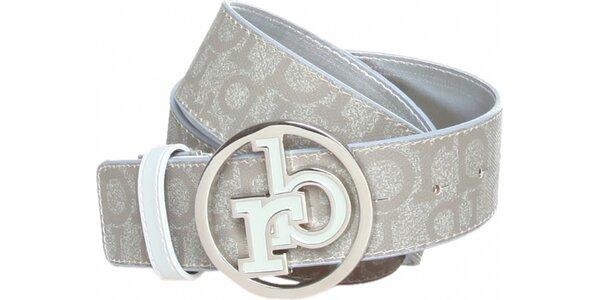 Dámský světle šedý pásek Roccobarocco
