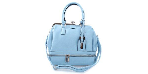 Dámská elegantní světle modrá kabelka Bessie