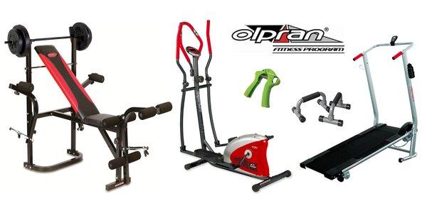 Eliptický či běžecký trenažer a další fitness pomůcky
