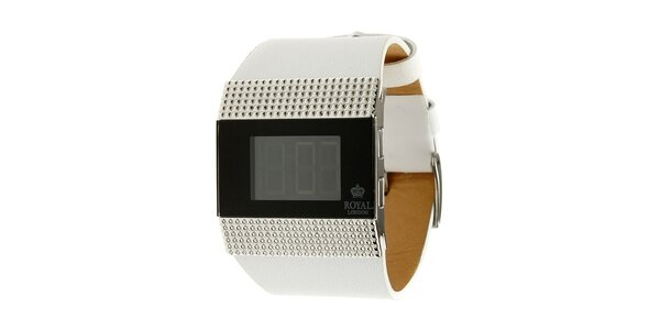 Dámské ocelové digitální hodinky Royal London