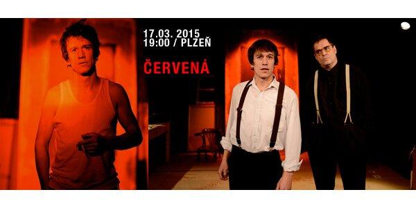 Inscenace Červená s Miroslavem Etzlerem a Martinem Krausem