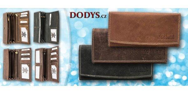 Kožené dámské peněženky ve 4 provedeních