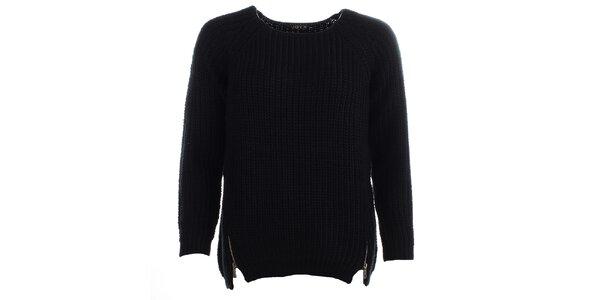 Dámský černý svetr JOYX