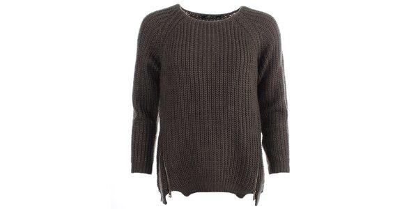 Dámský khaki svetr JOYX