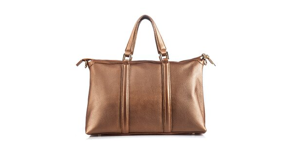 Dámská kožená kabelka s popruhem Belle & Bloom