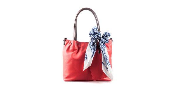 Dámská korálová kabelka se šátkem Belle   Bloom c084c7d6540