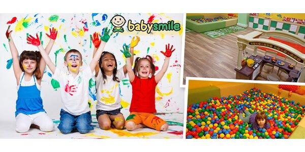 Vstupy do dětské školičky Babysmile
