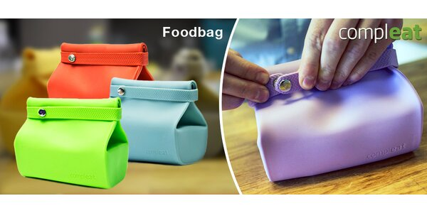 Silikonový pytlík na svačinu Compleat Foodbag