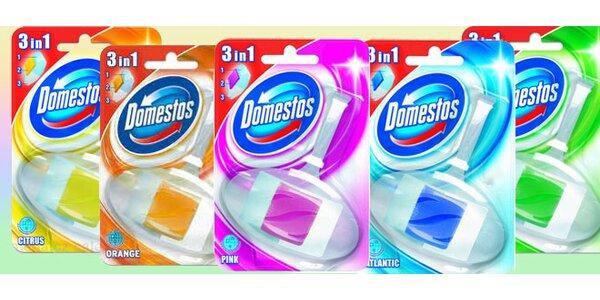 10x WC blok Domestos – 5 svěžích vůní