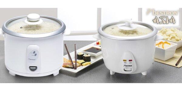 Rýžovary Bestron pro dokonalou rýži a spol.