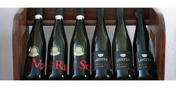Sada 6 výborných vín z Vinařství LAHOFER