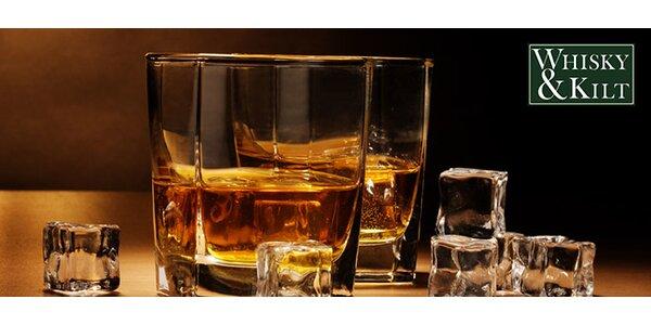 Ochutnávka 6 panáků skotské whisky v klubu Whisky&Kilt