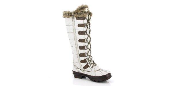 Dámské vysoké zimní boty Kimberfeel