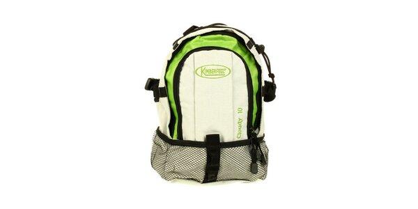 Zeleno-béžový batoh Kimberfeel