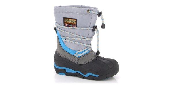 Zimní boty Kimberfeel - s modrými prvky