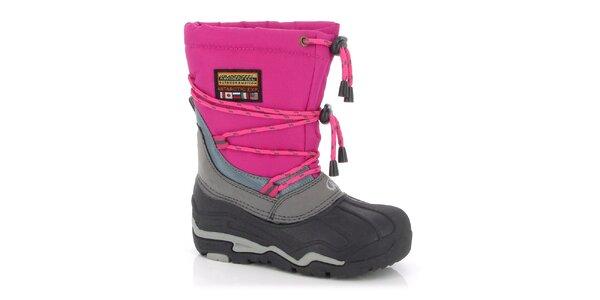 Zimní boty Kimberfeel - fuchsiové