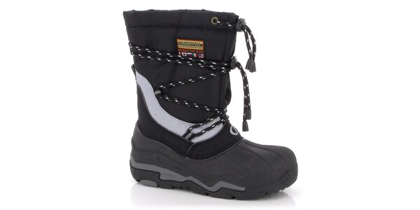 Zimní boty Kimberfeel - černé