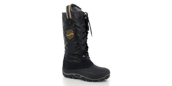 Dámské černé zimní boty Kimberfeel