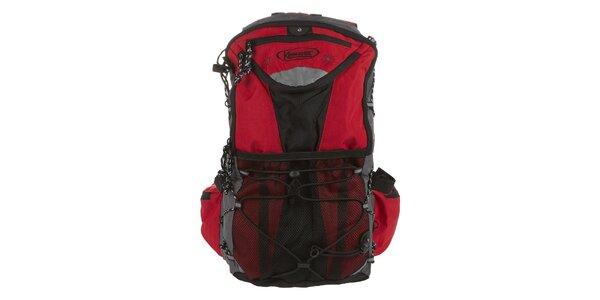 Červený batoh Kimberfeel