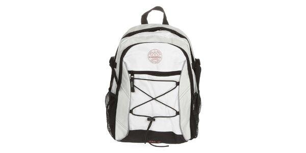 Béžovo-bílý batoh Kimberfeel