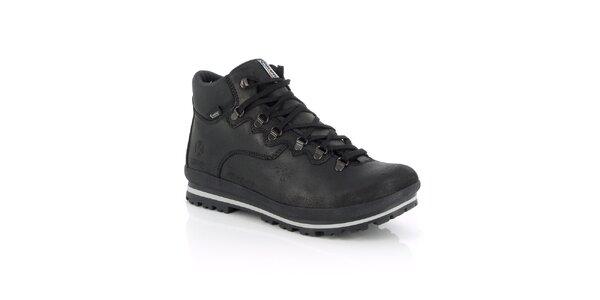 Pánské zimní vodotěsné černé boty Kimberfeel
