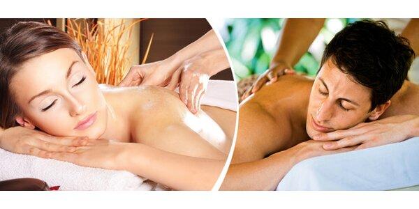 Klasická hodinová masáž