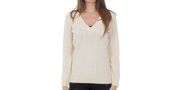 Dámský vlněný svetr se vzorem Tommy Hilfiger