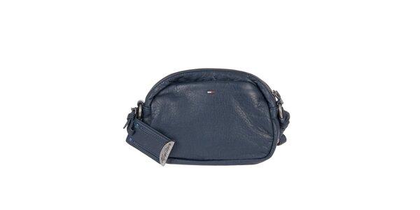 Dámská tmavě modrá kabelka s dekorativním prošíváním Tommy Hilfiger