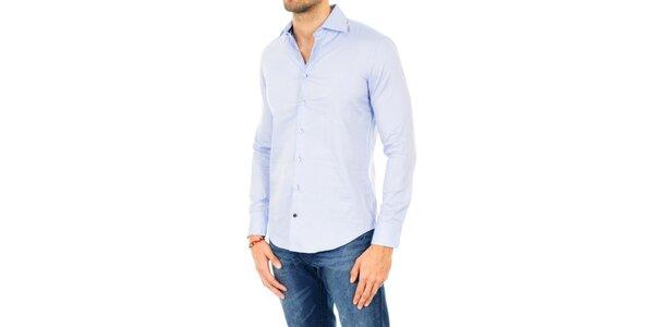 Pánská světle modrá košile Tommy Hilfiger