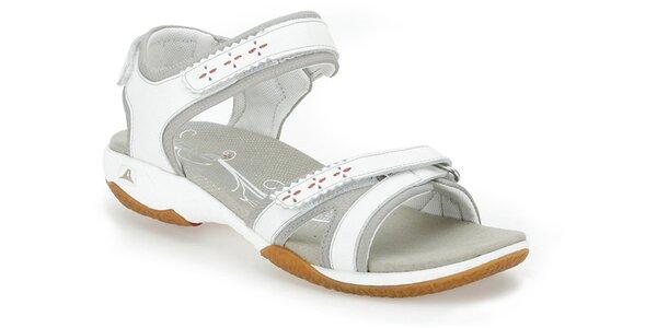 Dámské bílé sportovní sandály Clarks