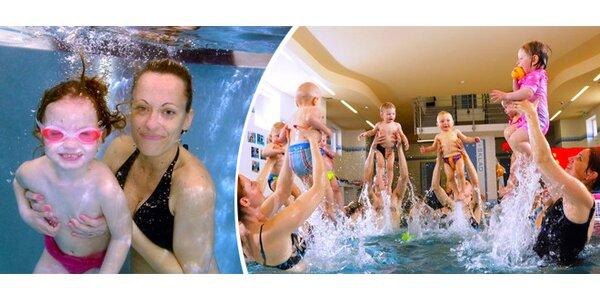 Kurz plavání od 2. 2. pro děti od 6 měs. do 8 let v Brně