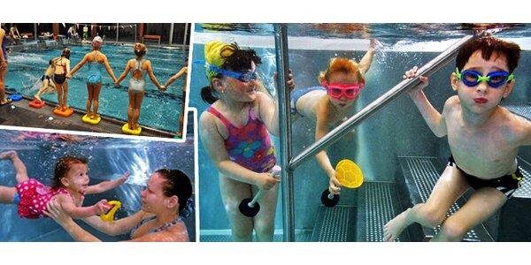 Kurz plavání od 5. 2. ve wellness Kuřim