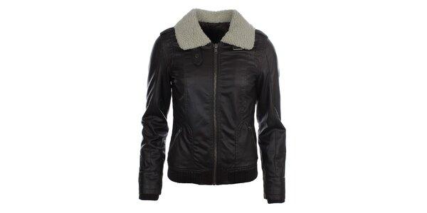 Dámská koženková bunda s ovečkou COMPANY&CO