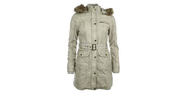 Dámský světlý kabát ECI