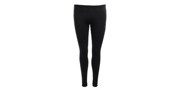 Dámské černé strečové kalhoty Puma