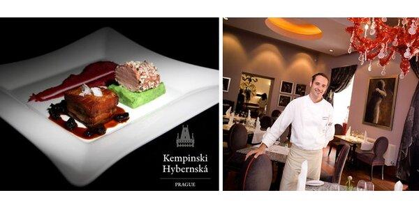 999 Kč za 7chodové degustační menu pro dva v restauraci Le Grill Kempinski!